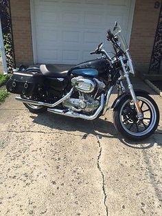 eBay: 2012 Harley-Davidson Sportster 2012 Harley Davidson 883 SuperLow Tons of Extras #harleydavidson