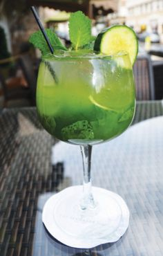 Garden Cucumber-Mint  Cocktail