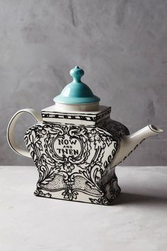Molly Hatch Sketched Story Teapot
