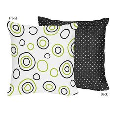 Sweet Jojo Designs Spirodot Decorative Pillow