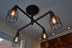 Hey, I found this really awesome Etsy listing at https://www.etsy.com/listing/181668338/steampunk-industrial-ceiling-light
