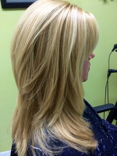 Long Hairstyle Ideas With Blonde Color Mode That Look Charming 05 Long Thin Hair, Long Layered Hair, Long Hair Cuts, Blonde Foils, Blonde Color, Long Shag Haircut, Medium Hair Styles, Long Hair Styles, Face Shape Hairstyles