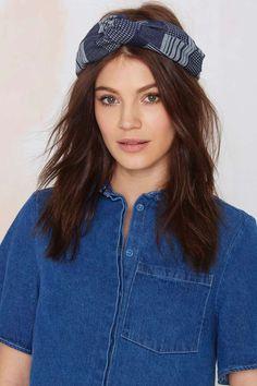 Patch It Up Headband -    Hair + Hats