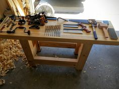 My Workbench Build - Hand Tools Only