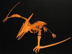Tektonten Papercraft: Prehistoric Animals  - Pterosaur Skeleton Papercraft