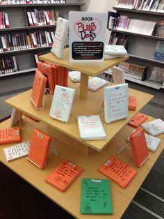 Book blind date for teens!!  We did this already!