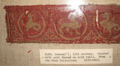 V&A 13th cent embroidered band1 by Vrangtante Brun