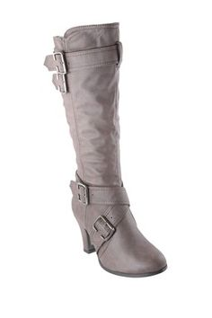 ANNA Shoes Buckle Boot