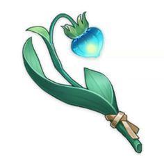 Small Lamp Grass | Genshin Impact Wiki | Fandom Fire Flower, Flower Art, Small Lamps, Wild Grass, Image Descriptions, Night Light, Wild Flowers, Plants, Icons