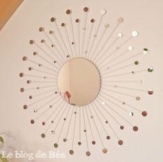 DIY miroir constellation
