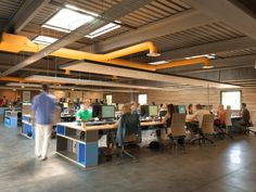 VirtualExpo open-space office by MultiPod Studio, Marseille – France » Retail Design Blog