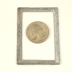 Vintage Dollhouse Miniature Metal Frame by VintageCreekside, $8.00