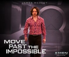 #JamesMcAvoy as #CharlesXavier a.k.a #ProfessorX of the past in #XMen #DOFP