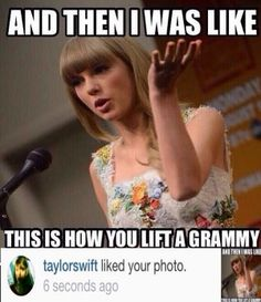 the fact that she likes these memes of herself, she knows that she's the queen