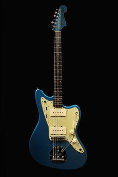 A 1962 Vintage Fender Jazzmaster Guitar.