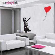 Banksy Balloon Girl Wall Sticker  http://www.redcandy.co.uk/product-vinyl-biz-banksy-ballon-girl-wall-sticker.php