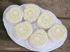 Prajitura Fulg de Nea Romania Food, Cakes, Desserts, Recipes, Tailgate Desserts, Deserts, Cake Makers, Kuchen, Recipies