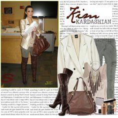 1307. Celeb Style : Kim Kardashian (26.12.2010), created by munarina on Polyvore