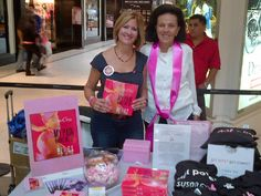 Komen Pink Crusade Livingston Mall event - music, fun and author signings. October 2013