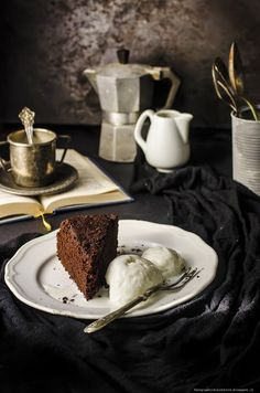 Torta light al cioccolato/ Light chocolate cake