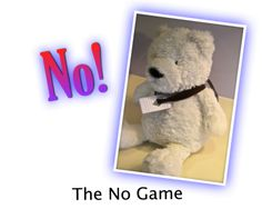 "THE ""NO"" GAME: A great party game any time of the year, for kids or adults. It is an awesome game to get people laughing and involved. A useful icebreaker...."