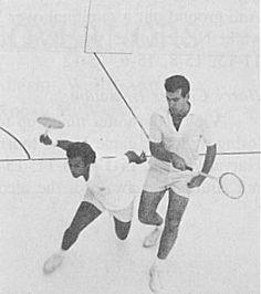 Classic squash hardballers.