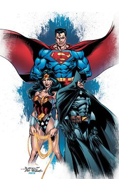 dc comic characters pictures | the unusual bond — and importance — of DC's top three characters ...