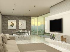 Miriã Campos | Arquitetura • Design • Maquete Eletrônica 3D | Design de interiores sala de estar e jantar – Projeto e Maquete eletronica 3D – Belo Horizonte BH – Miriã Campos MCampos arquitetura