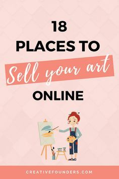 18 Places To Sell Your Art Online // Gifts Less ordinary // Saatch Art // Art Finder // Etsy // Hardtofind.com.au // Not On THe High Street