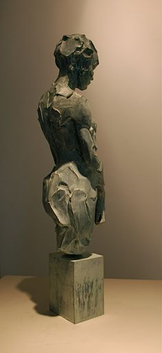 Catherine Thiry - sculpture - La Petite - bronze - 45 cm #SculpturactGallery #catherineThiry