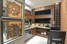 adega / wine / vinho / winery / apartamento decorado / home decor / tijolinho / bohrer arquitetura / interior design / decoração / showroom / casa / architecture