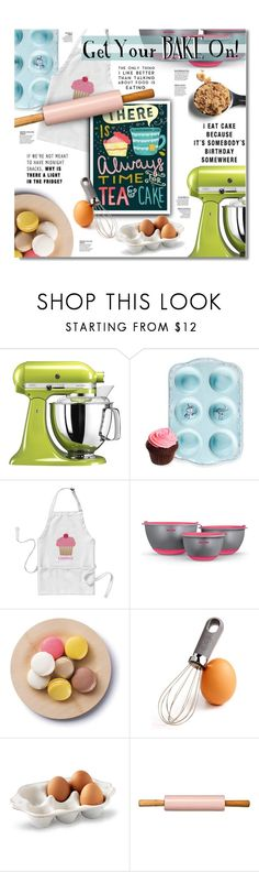 """Get Your Bake On!"" by eilselrenrag ❤ liked on Polyvore featuring interior, interiors, interior design, home, home decor, interior decorating, John Lewis, Art and Cook, Martha Stewart and Juliska"