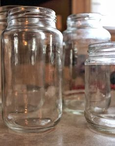 The No Sweat, Chemical-Free way to Remove Labels and Glue Residue from Your Jars | Best DIY Tricks