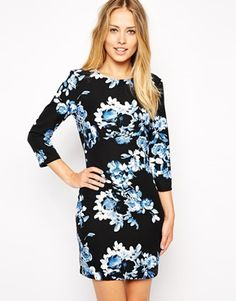 ASOS Floral Cut Out Bodycon Dress;  wedding options