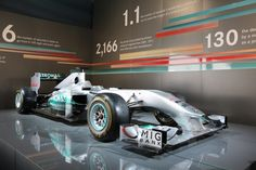 Mercedes Formula 1 car. - Chris Siegwald