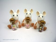 Little Mice with Sweetie Jars