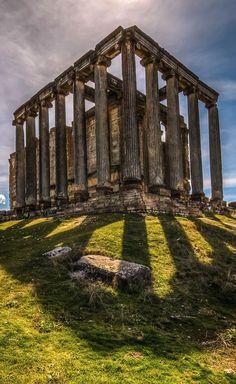 The Temple of Zeus, Aizonoi, Turkey