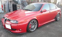 CarbonSideExtension for AlfaRomeo156GTA Alfa Romeo 155, Alfa Romeo Cars, Alfa Gta, Sport Cars, Cool Cars, Ferrari, Automobile, Side Extension, Slammed