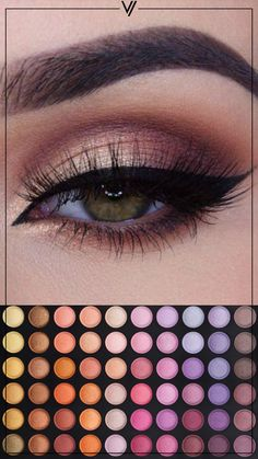 Coastal Scents 120 Palette Four  #CoastalScents #Ojos #Sombras
