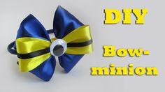 DIY Bow-minion  headband