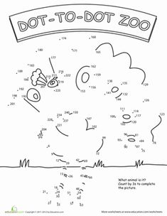 Second Grade Animals Place Value Worksheets: Skip Count by Three