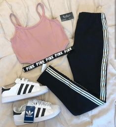 Cute Lazy Outfits, Cute Swag Outfits, Sporty Outfits, Pretty Outfits, Stylish Outfits, Girls Fashion Clothes, Teen Fashion Outfits, Cute Fashion, Outfits For Teens
