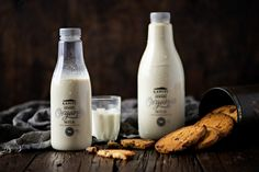 """Check out this @Behance project: """"Kapiti Organic Milk"""" https://www.behance.net/gallery/45558911/Kapiti-Organic-Milk"""