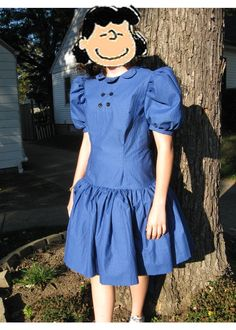 A Lucy Costume? love the dress and the color! u can lose the buttons though!