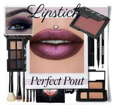 """""""Metallic Lipstick ❤ 6-4-2017"""" by someone-on-earth ❤ liked on Polyvore featuring beauty, NARS Cosmetics, Bobbi Brown Cosmetics, Yves Saint Laurent, Guerlain, LIPSTICK, metallic and metalliclipstick"""