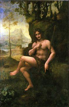 "Dad's Roman form: ""Bacchus"" by Leonardo Da Vinci"