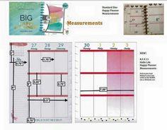 Big Happy Planner measurements