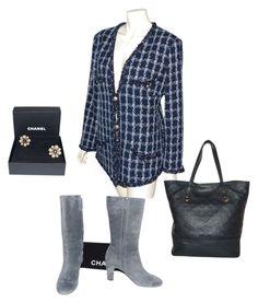 Eshop luxe en ligne Veste Bottes et Boucles d'oreilles Chanel Sac Cabas Citadine Vuitton