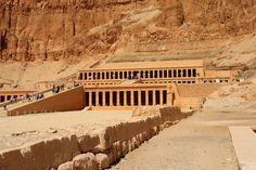 Temple of Queen Hatshepsut...although, Pharaoh Hatshepsut, or even King Hatshepsut is just as appropiate.
