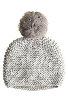 Pompom Beanie :: COLD WEATHER :: ACCESSORIES :: Calypso St. Barth  I want this !!! @Suzy Sissons Draffin :)